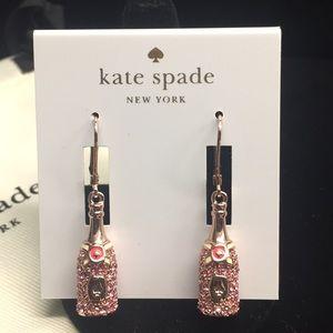 NWT kate spade Make Magic Champagne Drop Earrings